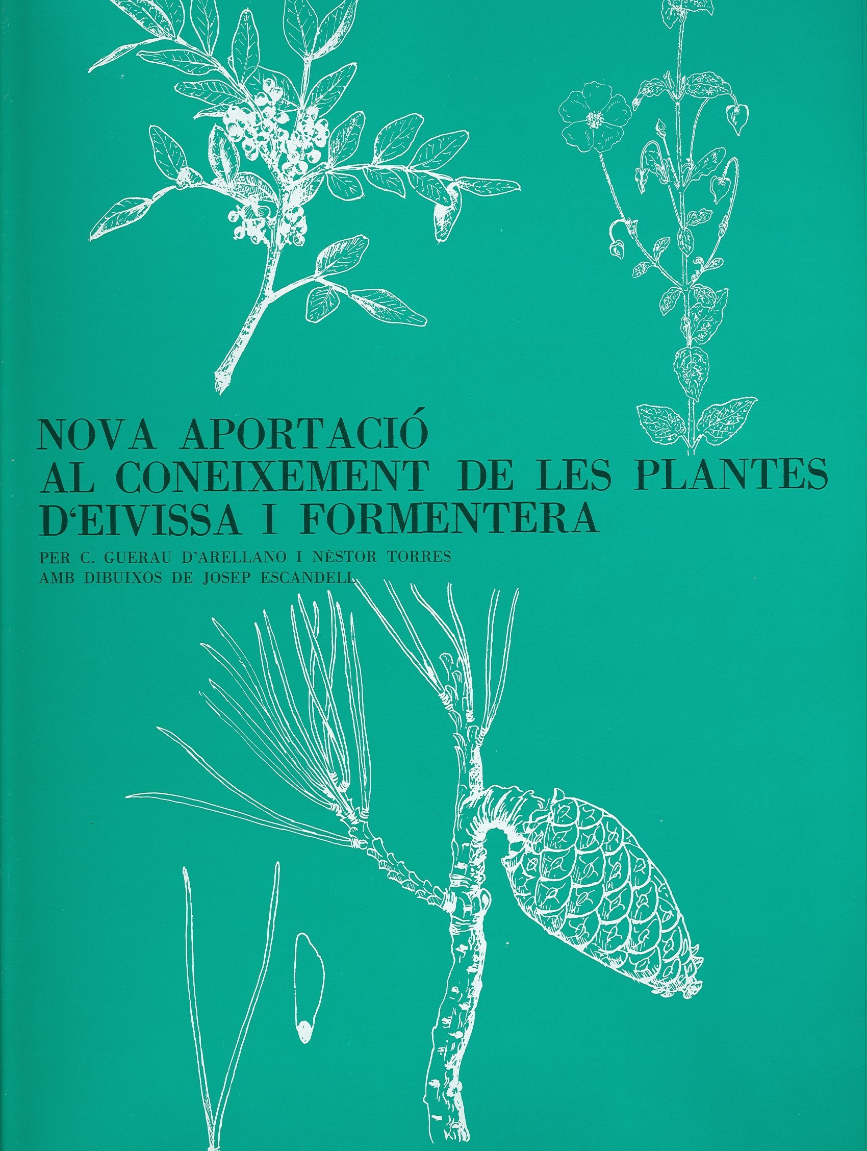 Nova aportació al coneixement de les plantes Eivissa  Formentera