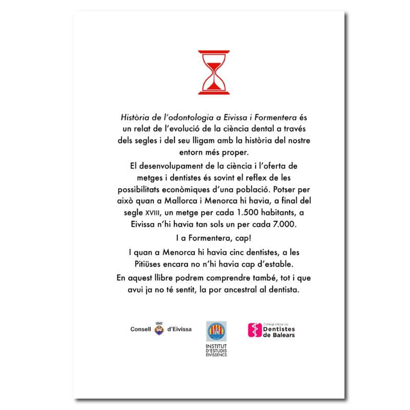 Historia de la l'Odontologia a Eivissa i Formentera-contraportada