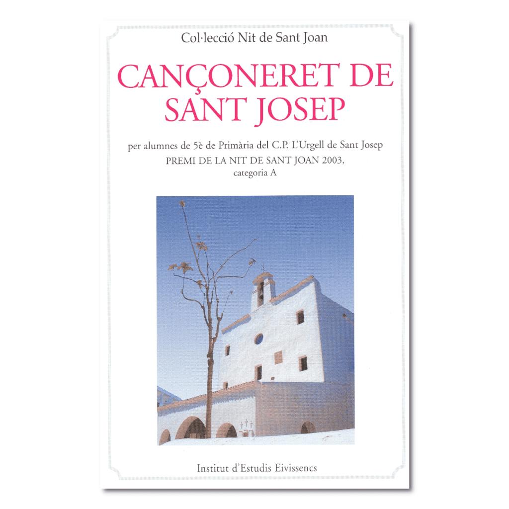 Cançoneret de Sant Josep-portada