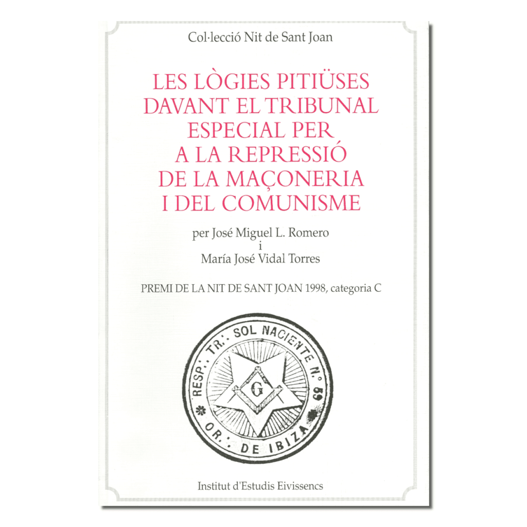 Les lògies pitiüses davant el tribunal especial per a la repressió de la maçoneria i el comunisme-portada