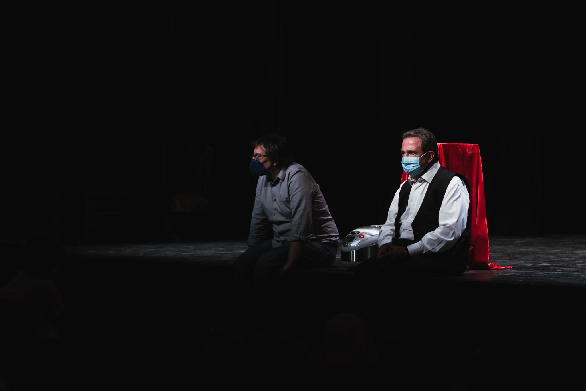 Bernat Joan i Vicent Tur, autors de l'obra